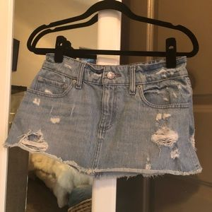 BDG Denim Mini Skirt